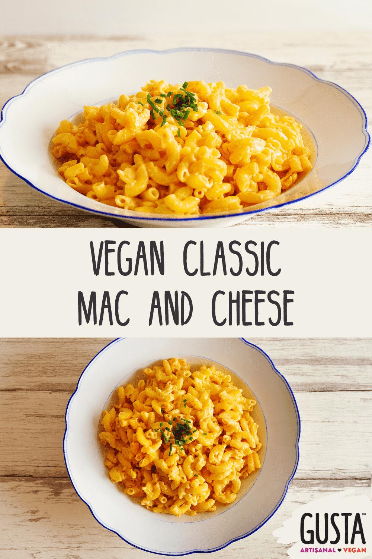 vegan classic mac and cheese