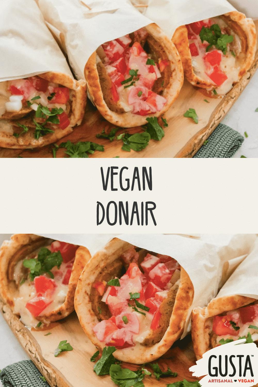 vegan donair