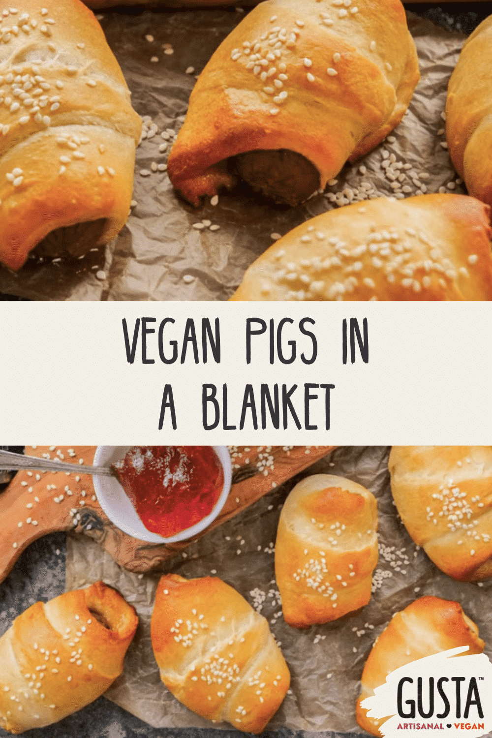 vegan pigs in a blanket