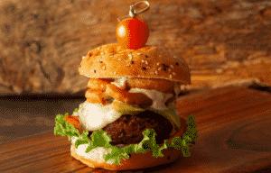 decadente burger