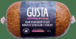 GUSTA burger a trancher