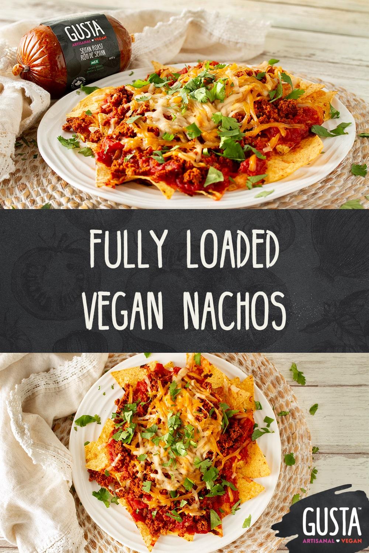 vegan nachos