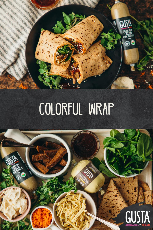 Pin wrap