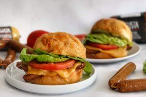 sandwich, burger